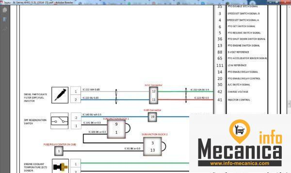 truck wiring diagram full collection  infomecanica venta e